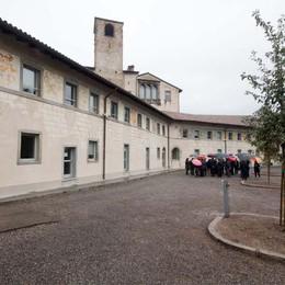 S. Agostino, a nuovo le casermette  Trovati antichi stemmi di famiglia