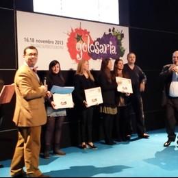 Premi bergamaschi  a Golosaria Milano