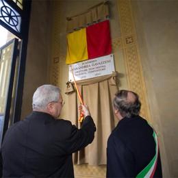 Bergamo ricorda il suo Papa  Una lapide nella chiesa del Famedio