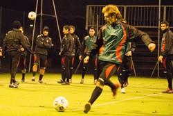 Nicola Bortolotti in allenamento