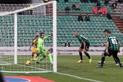 Il gol dell'1-0 di Zaza