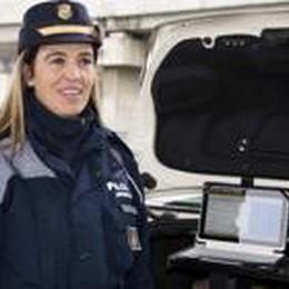 Vigili armati di tablet e stampanti  Nembro, controlli in tempo reale