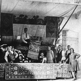 Leffe, l'epica storia dei «copertini»  Dal carretto al fenomeno commerciale