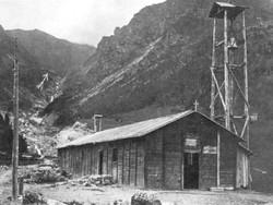 La chiesetta di Bueggio distrutta nel disastro della diga del Gleno del 1° dicembre 1923