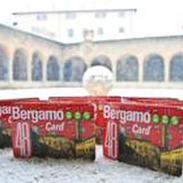 Bergamo Card aiuta  il turismo  4200 quelle vendute nel 2013