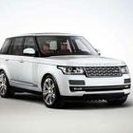 La Range Rover  a passo lungo