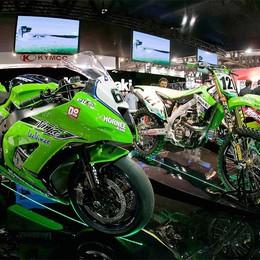 La fiera del motociclo a Milano  Da giovedì è aperta al pubblico