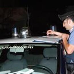 Furti, raffica di controlli  Val Seriana, fermati 10  sospetti