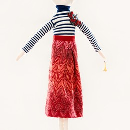 Missoni, una bambola per l'Unicef  che ricorda Amélie Poulain