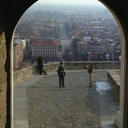 Sole e bel tempo per Bergamo  Con l'Immacolata torna il freddo
