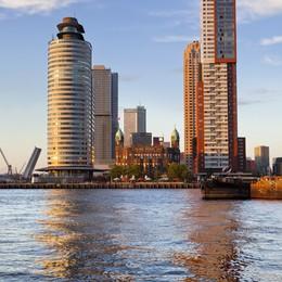 Le torri di Rotterdam  Skyline  mozzafiato