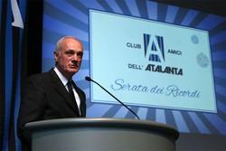 Festa fine anno Club Amici Atalanta: parla Antonio Percassi