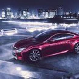 Nuova Lexus RC  Coupé sportivo