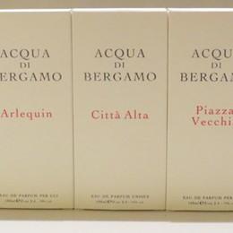 Nasce «Acqua di Bergamo»  Il profumo di una terra