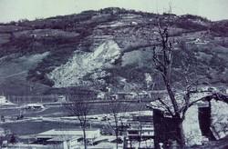 La località fossilifera di Cene negli anni '70