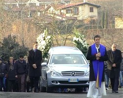 Il funerale di Giulia Cortesi