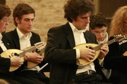 Mandolinisti di Estudiantina Ensemble , diretto da Pietro Ragni