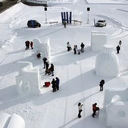 Livigno, mille idee  Art in Ice, sci e gusto