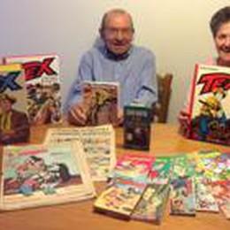 Chiuduno, il tesoro di Cèco:  collezione di 14 mila fumetti
