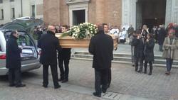 I funerali di Jessica Sifert a Caravaggio