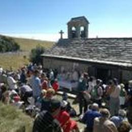 Santuario sul monte Linzone:  il 30 c'è la Messa di fine anno