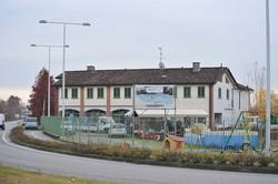Il luogo dell'omicidio, a Caravaggio