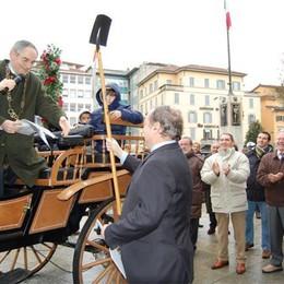 Piazza Pontida rinasce  ma senza il suo Ducato