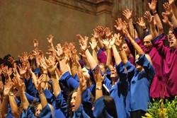 Un coro gospel