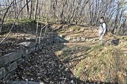 quello che rimane della torre di avvistamento del Monte Canto