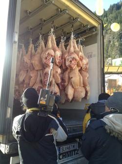 La protesta della Coldiretti al Brennero e a Reggio Emilia a difesa del made in Italy