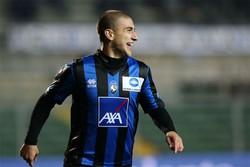De Luca felice dopo il 2-0
