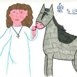 Santa Lucia va in Pediatria  Uno spettacolo in ospedale