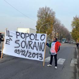Sciopero dei forconi, tre presìdi   A Bergamo, Treviglio e Medolago