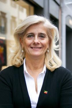 Laura Capella, presidente del Club Forza Silvio Bergamo