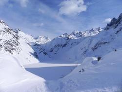 La neve al Curò