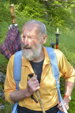 L'alpinista Mario Curnis
