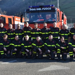Gazzaniga, pompieri in campo  In un anno 252 gli interventi
