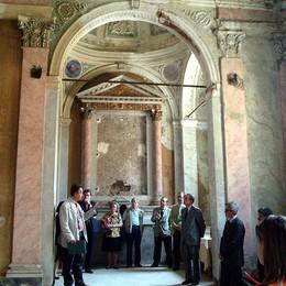 Rivive l'antica chiesa di san Rocco  Artisti contemporanei in Città Alta