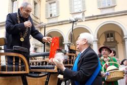Il Liber Prim saluta il presidente del Consiglio provinciale Roberto Magri