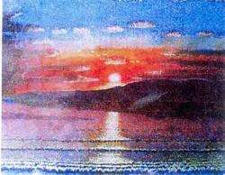 Un'opera di Luciano Belotti