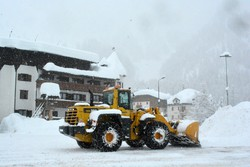 La forte nevicata a Foppolo