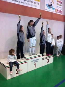 Zanchi (1), Valsecchi (2) e Lorenzi (3)