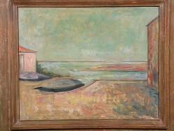 Paesaggio di Alberto Vitali, Collezione permanenete della Provincia di Bergamo