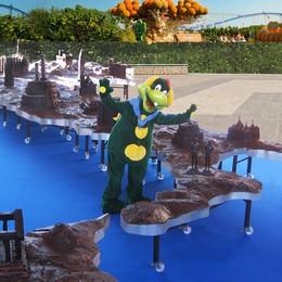 C'è Gardaland in Città Alta  con la mascotte Prezzemolo