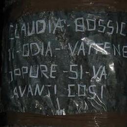 Bossico, scritte contro la vigilessa  Cartelli offensivi: caccia all'autore