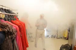 Antifurto con sistema di nebbiaggio
