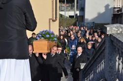 I funerali di Abele Andreoletti a Comenduno