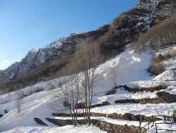 Le foto della valanga del Vendol, tra le baite di Ca' Sura e le baite di Piccinella a Maslana