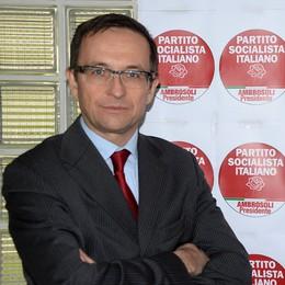 Il   Psi Bergamo corre da solo  De Lucia candidato sindaco