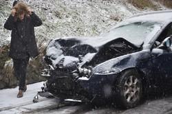 Un incidente a Villa d'Ogna per la nevicata